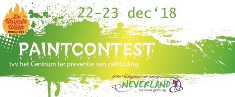 Paintcontest tvv de warmste week