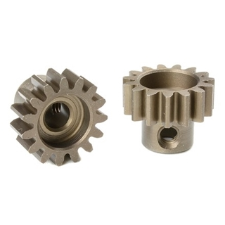M1.0 Pinion 15 T - Hardened Steel 5mm