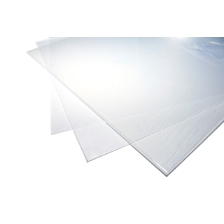 Clear Polyester 194x320x0.5mm