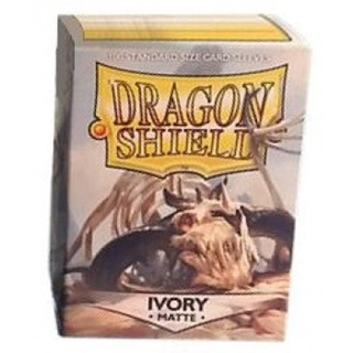 Sleeves Dragon Shield Ivory Matte