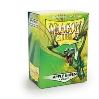 Sleeves Dragon Shield Apple Green Matte