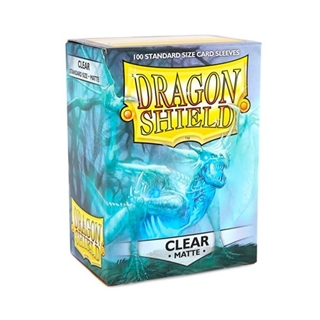 Sleeves Dragon Shield Clear Matte