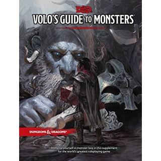 D&D 5.0 Volo's Guide To Monster Manual