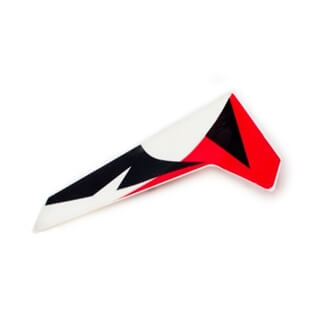 DISCONT: Vertical Fin, White: MSRX