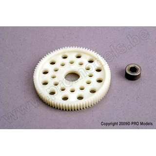 Spur Gear (84-Tooth) (48-Pitch) W/Bushing