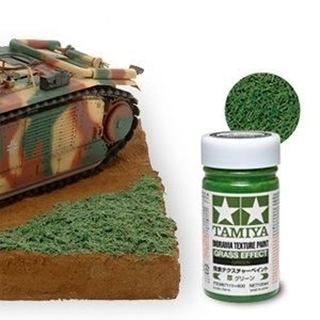 Diorama Texture Paint - Grass Effect - Green