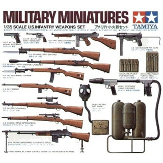 1/35 us Infantry Weapon set