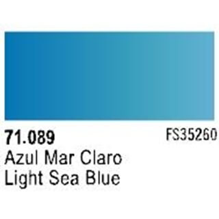 Light sea blue
