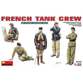 MINIART French Tank Crew       1/35