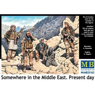 Somewhere In The Middle East.Present Day