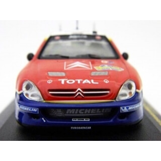 Citroen Xsara WRC Loeb Win Sw 04 Red - 1/43
