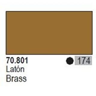 Model Color Brass