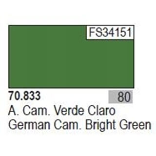 Model Color German Cam. Bright Green