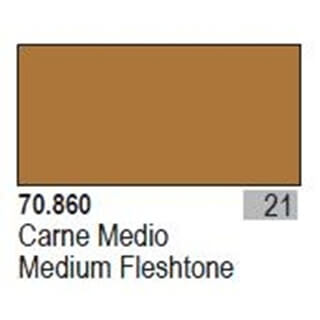 Model Color 021 - Medium Fleshtone