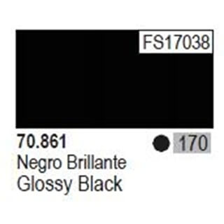 Model Color Glossy Black