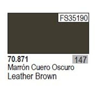 Model Color Leather Brown