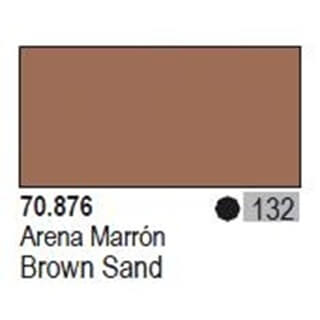Model Color Brown Sand