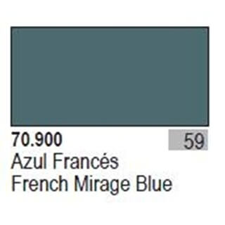 Model Color French Mirage blue