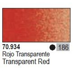 Model Color Transparant Red