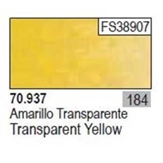 Model Color Transparant Yellow