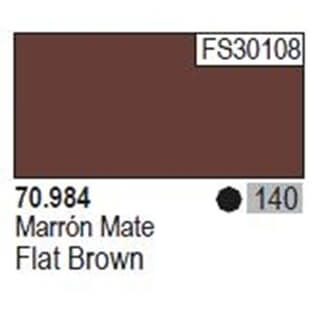 Model Color Flat Brown