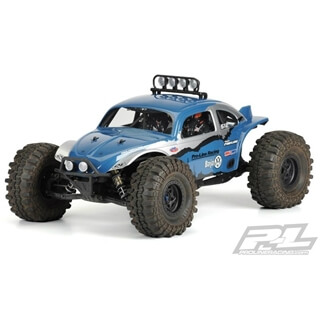 VW-Baja Bug Clear Body For Yeti