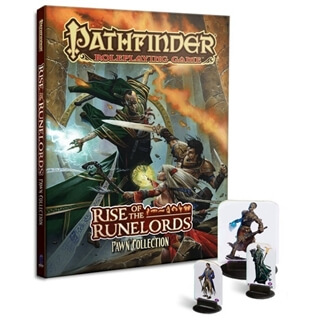 Pathfinder:Rise Of The Runelords Pawn Collection