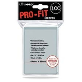 Pro-Fit Standard Sleeves Clear 100
