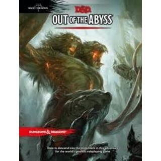 D&D 5.0 Out Of The Abyss Rage Of Demons TRP