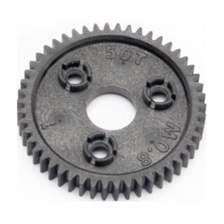 Spur Gear, 50-Tooth (0.8 Metric Pitch, Compatible