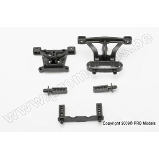 Body Mounts, Front & Rear/ Body Mount Posts, Front