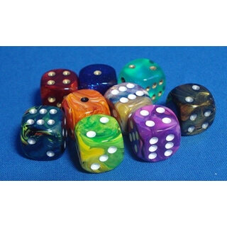 Loose Signature 16mm Six-Sided Dice with Pips