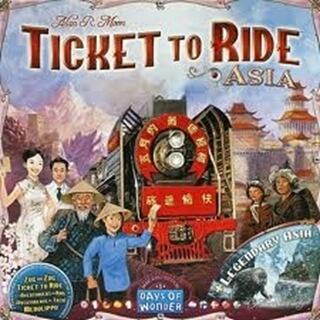 Ticket to Ride Map Collection: Asia