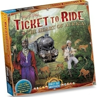 Ticket to Ride Exp: The Heart of Afrika