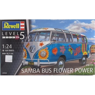 Samba Bus Flower Power