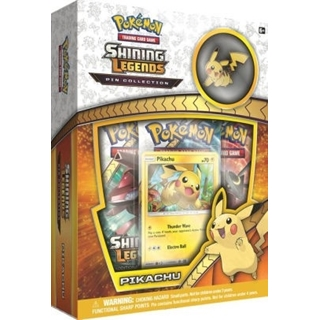 Pokemon Shining Legends Pikachu Pin Collection