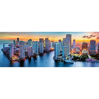 Panorama - Miami after dark - 1000 pcs