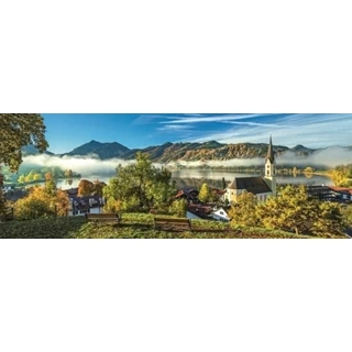 Panorama - By the Schliersee lake - 1000 pcs