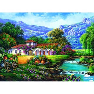 Hacienda by the stream - 3000 pcs
