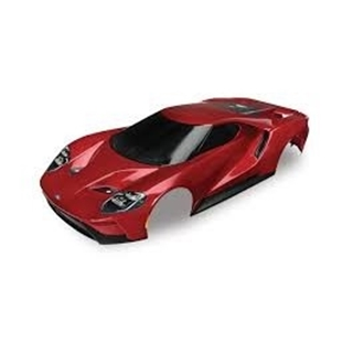 Body, Ford GT, red (painted, decals applied)