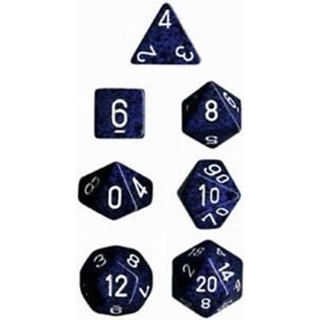 Stealth Speckled Polyhedral 7 Dice Set