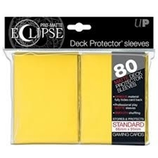 Sleeves Pro Matte Eclipse  Yellow