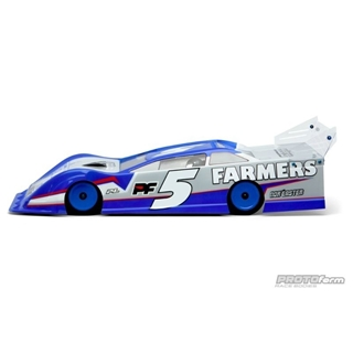 Protoform Bodies: Clear Body for Dirt Oval Late