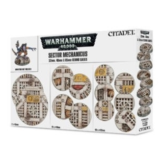 Sector Mechanicus 32 mm 40 mm & 65 mm Round Bases