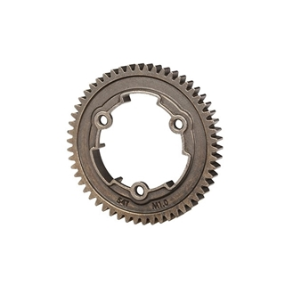 SPUR GEAR, 54-TOOTH, STEEL    (1.0 metric pitch)