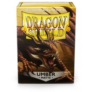 Sleeves Dragon Shield Matte Umber (100)