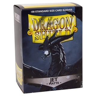 Sleeves Dragon Shield Matte Jet (100)