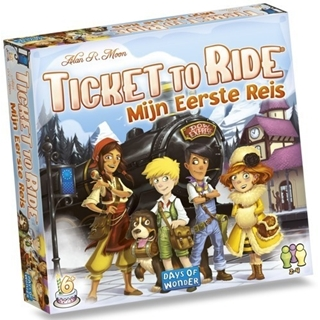 Ticket To Ride : Mijn Eerste Reis