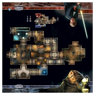 Star Wars Imperial Assault Jabba's Palace Playmat