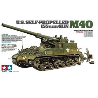 U.S. Self Propelled 155 mm Gun M40
